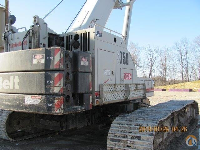 Link Belt TCC750 For Sale Crane for Sale in Pittsburgh Pennsylvania on CraneNetwork.com