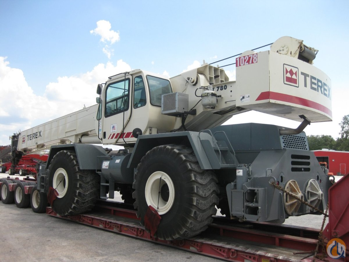 2008 Terex RT780 For Sale Crane for Sale in Tampa Florida on CraneNetwork.com
