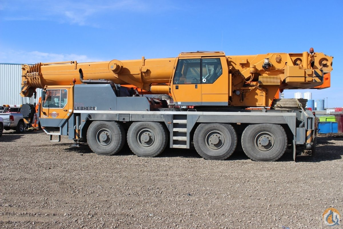 Sold 2001 Liebherr LTM 1080-1 Crane for  on CraneNetwork.com