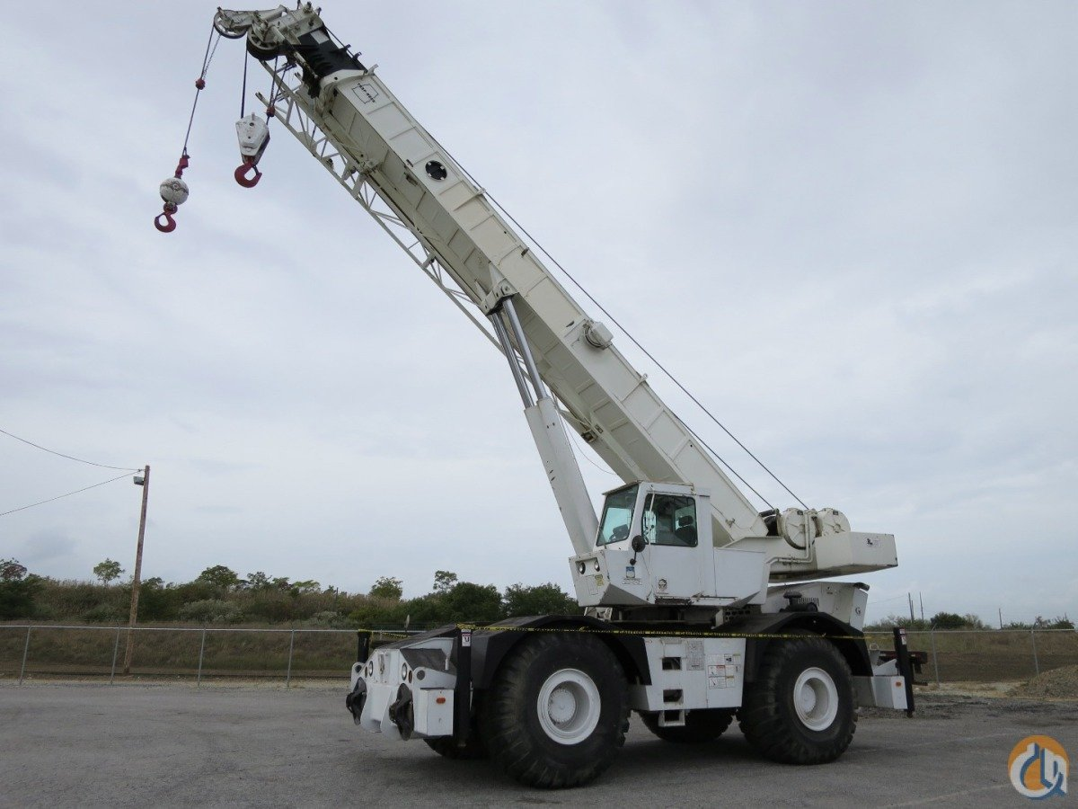 2000 Grove Rt 750 50 Ton Rough Terrain Crane With Strong