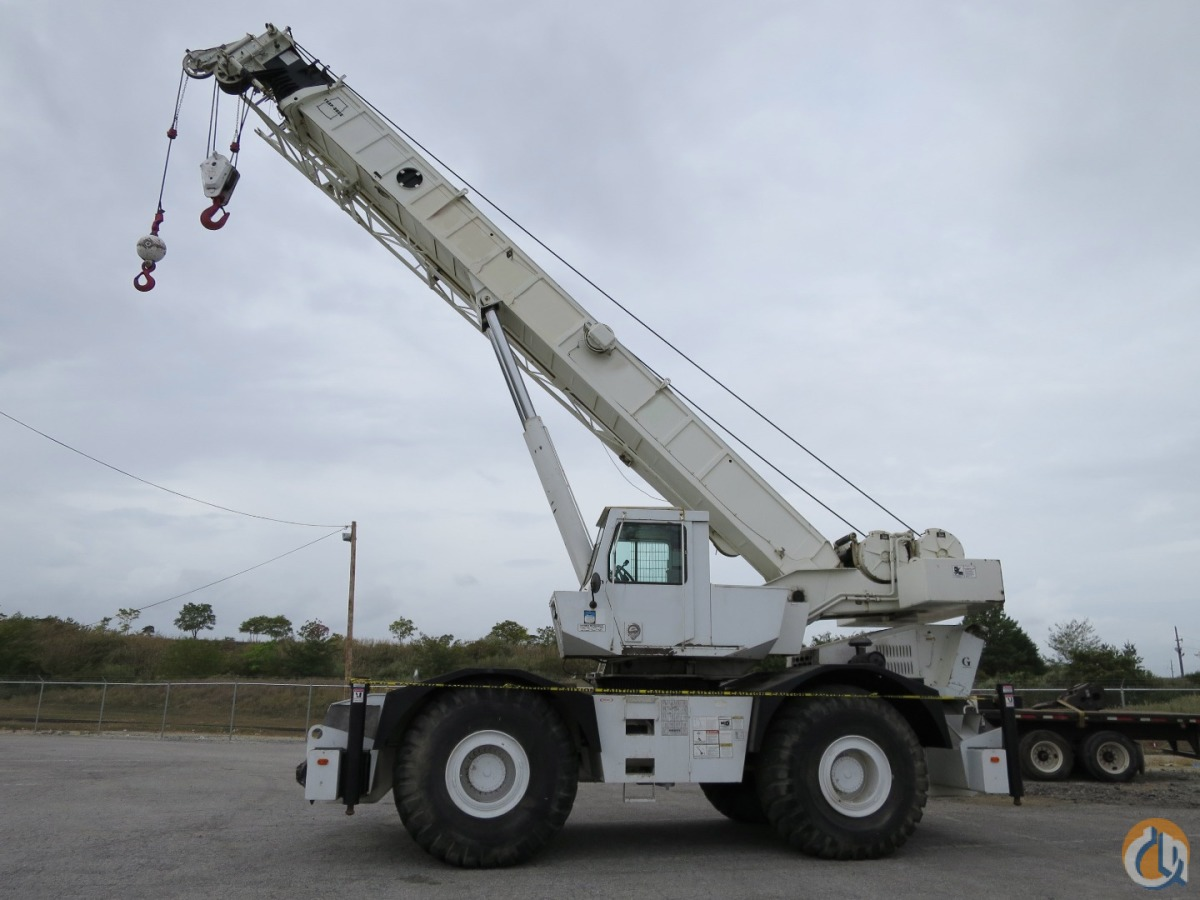 2000 GROVE RT-750 50 TON ROUGH TERRAIN CRANE WITH STRONG CHART Crane for Sale on CraneNetwork.com