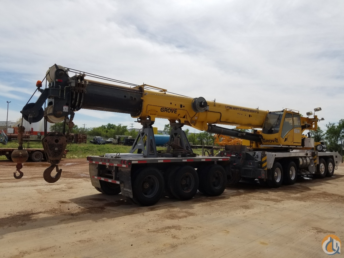 2008 Grove TMS900E with Boom Dolly Crane for Sale on CraneNetworkcom