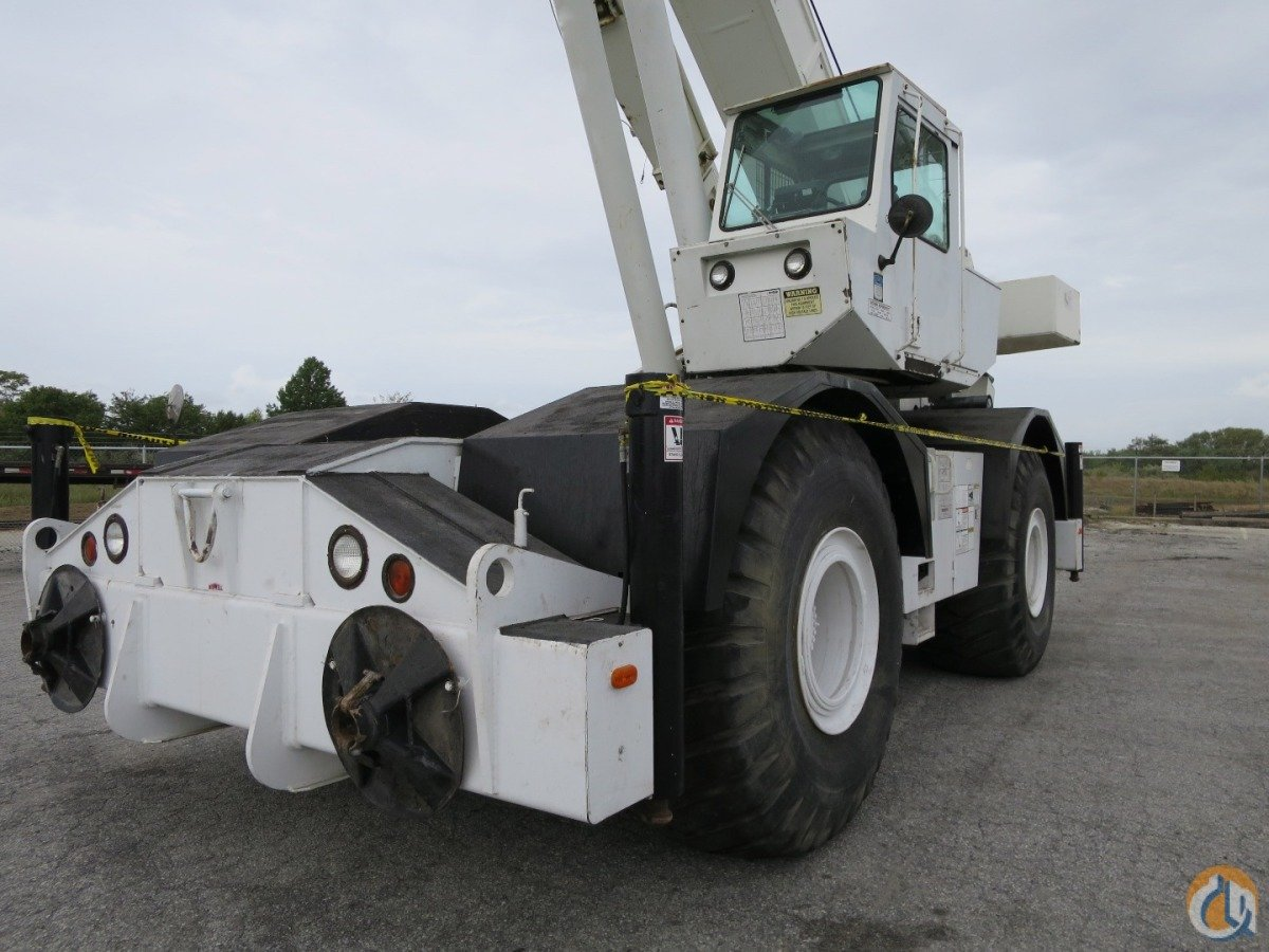 2000 GROVE RT-750 50 TON ROUGH TERRAIN CRANE WITH STRONG CHART Crane for  Sale on ...