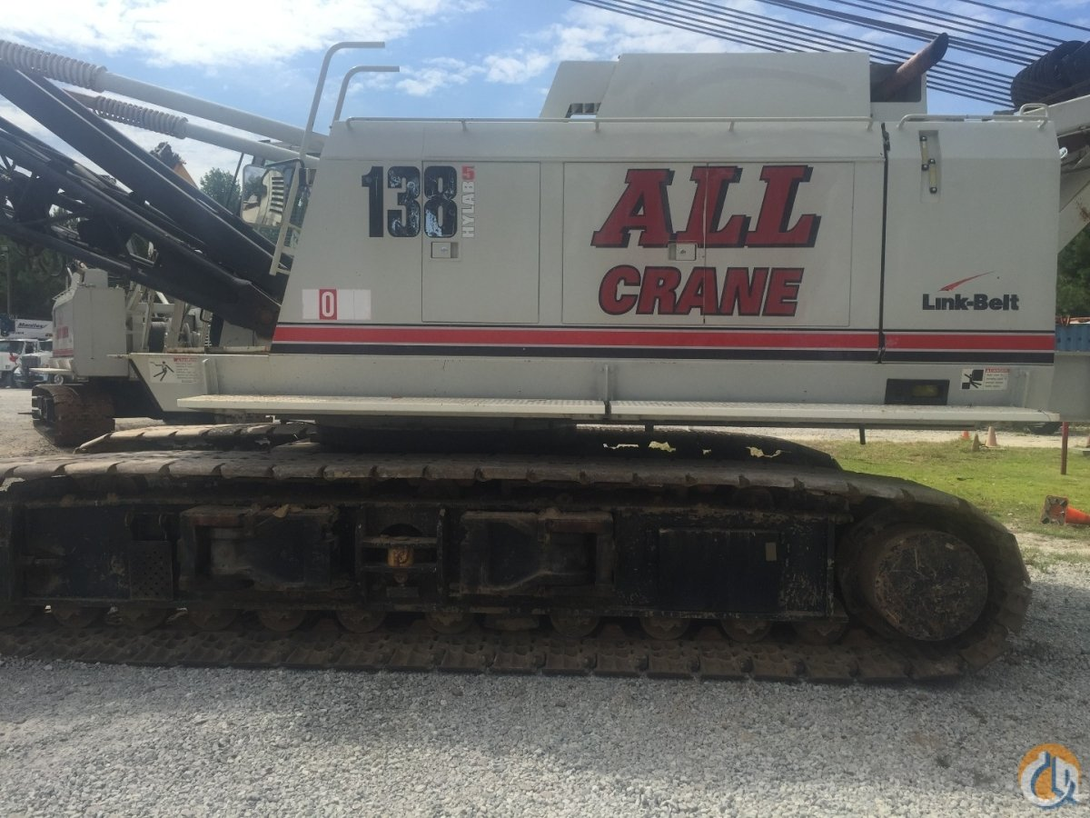 Link-Belt LS138H5 For Sale Crane for Sale in Raleigh North Carolina on CraneNetwork.com
