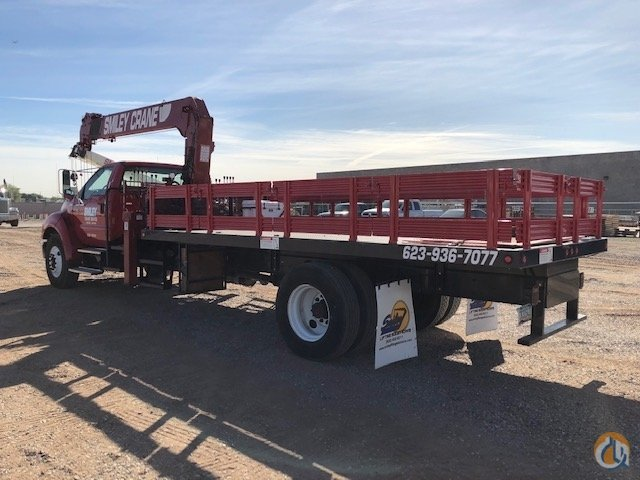 Jobsite LoaderUnloader Crane with Flatbed Crane for Sale in Phoenix Arizona on CraneNetwork.com