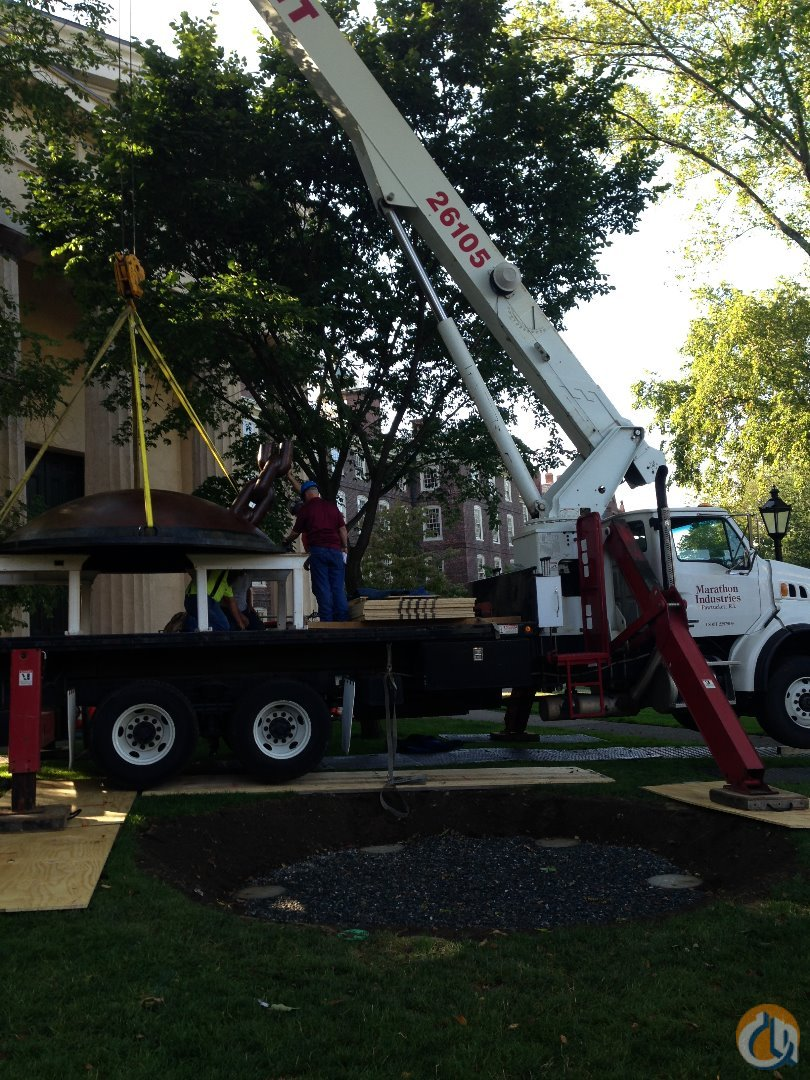 2007 Elliot 26105F Boom Truck Crane for Sale in Johnston Rhode Island on CraneNetworkcom