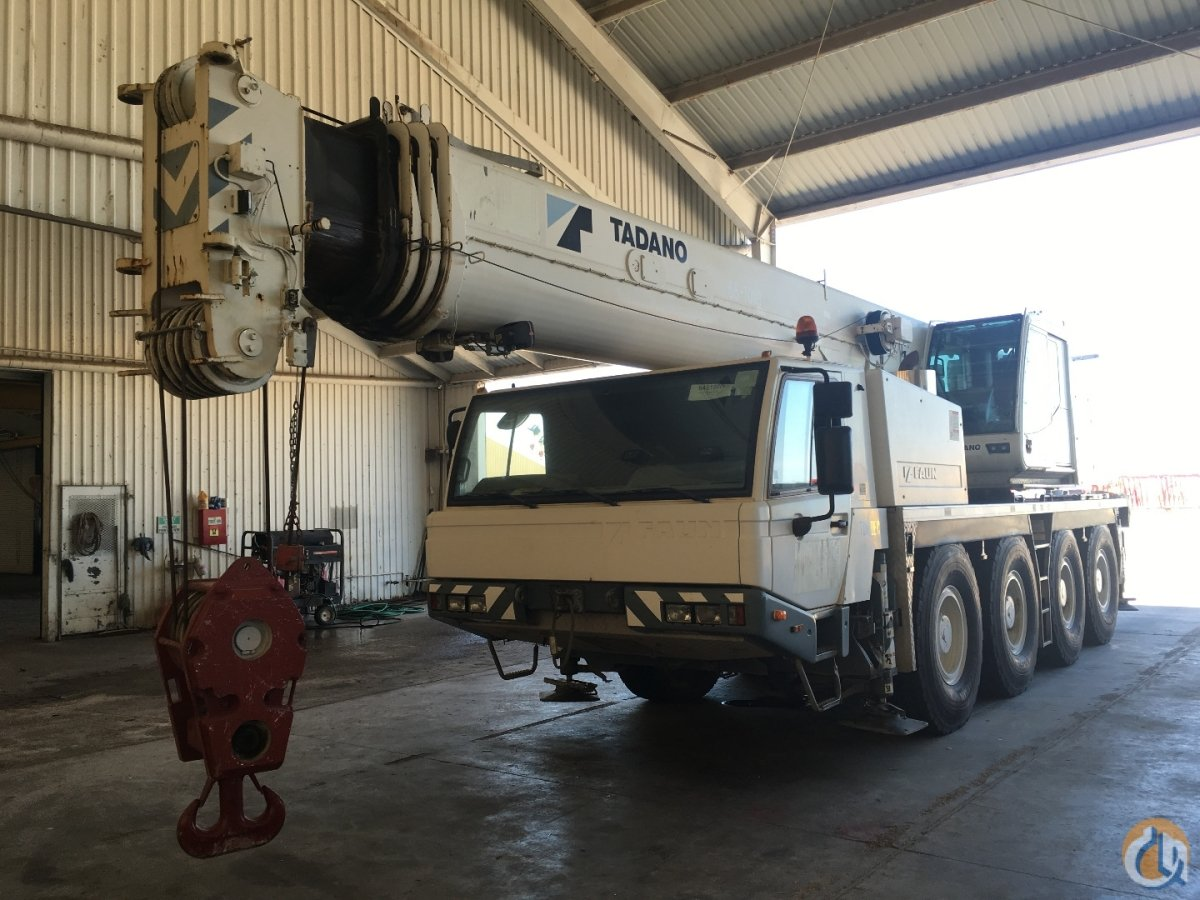 2007 TADANO ATF65G-4 Crane for Sale in Houston Texas on CraneNetworkcom