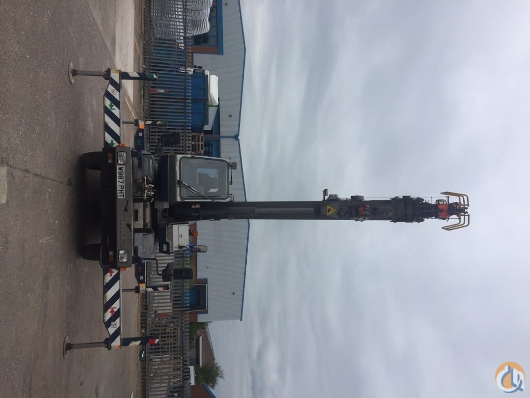 1999 KATO CR100 - 10 Ton City Crane Very Good Condition Crane for Sale in Cannock England on CraneNetworkcom