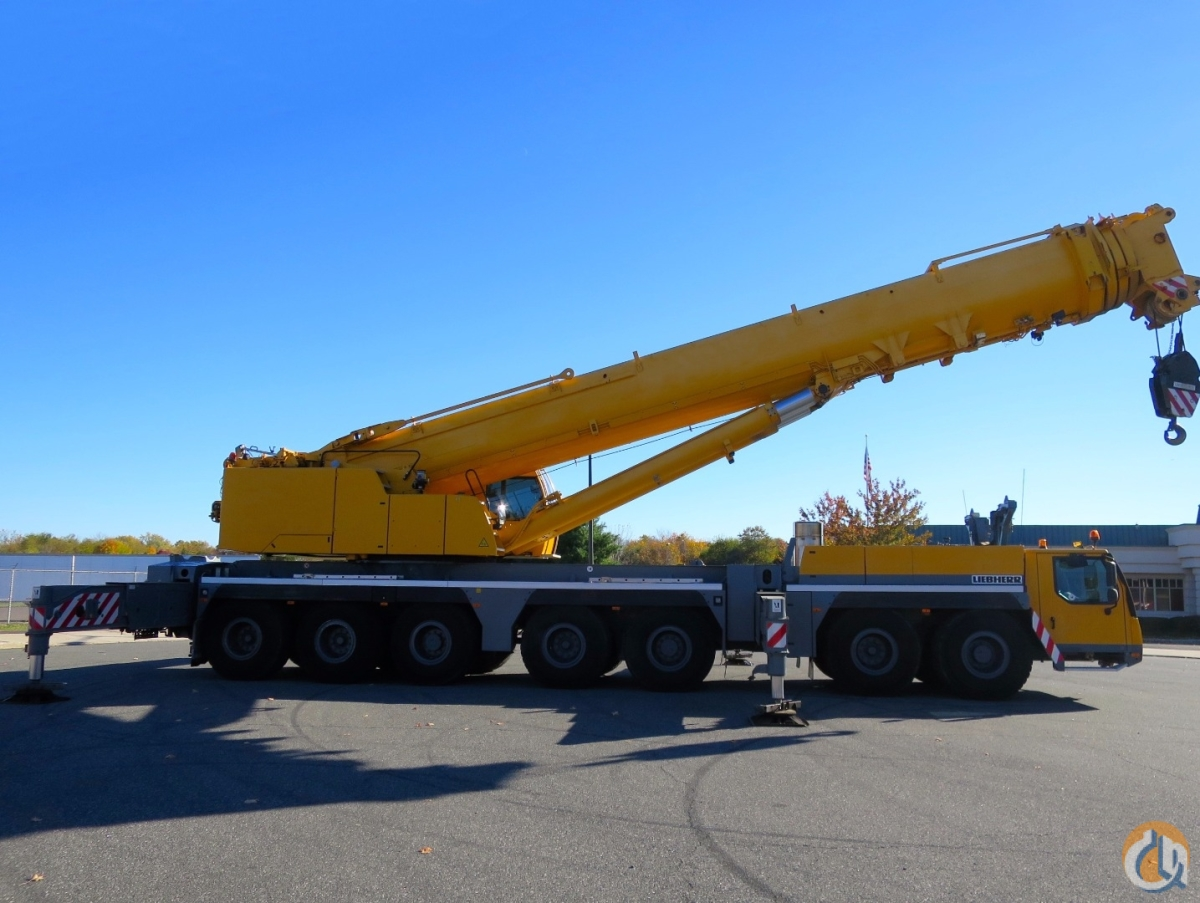 PRICED TO SELL U.S. SPEC CRANE WITH ALL AVAILABLE OPTIONS REMOVABLE OUTRIGGER BOX BOOM REMOVAL DOLLY PREP FULL LUFFER SUPERLIFT 20.5 TIRES Crane for Sale in Baltimore Maryland on CraneNetwork.com