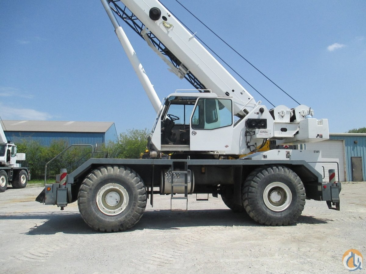 2007 Link-Belt RTC8065 SII Crane for Sale in Chicago Illinois on CraneNetwork.com