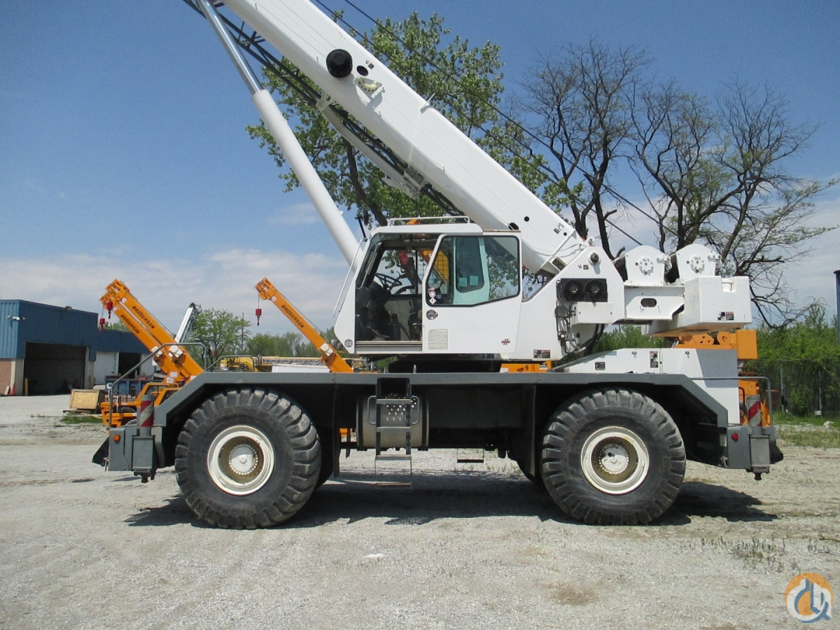 2006 Link-Belt RTC-8065 SII Crane for Sale in Chicago Illinois on CraneNetwork.com