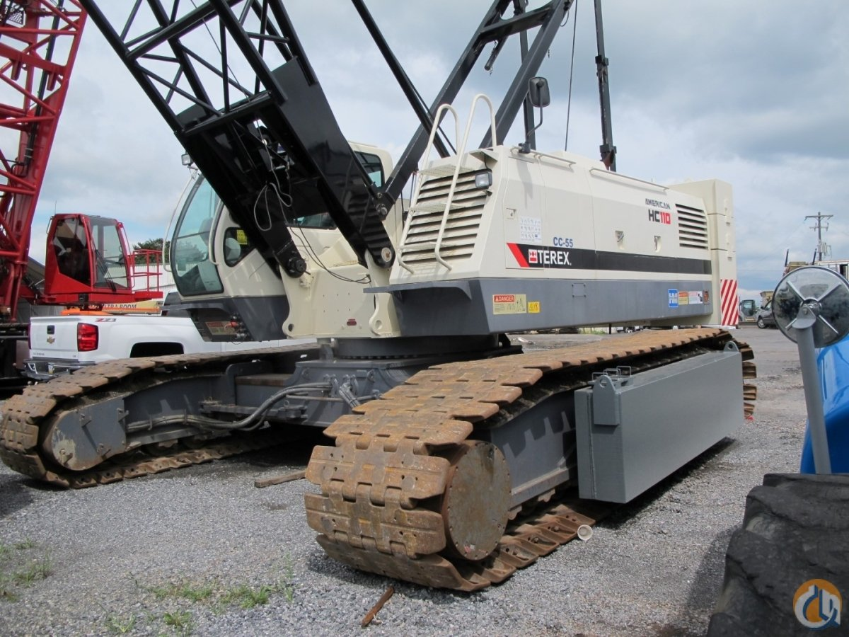 Sold 2010 Terex HC110 Crane for  in New Holland Pennsylvania on CraneNetwork.com