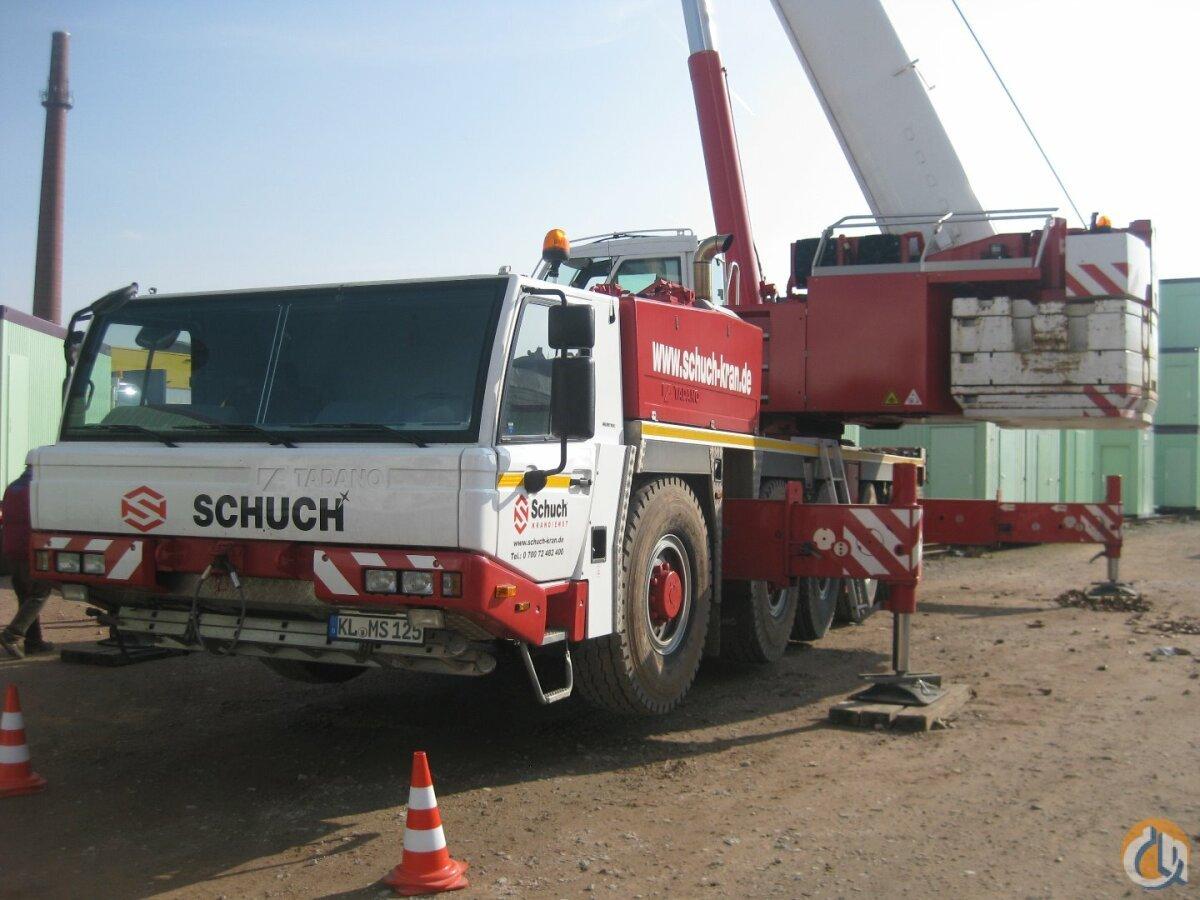 sold 2014 tadano faun atf 130g 5 crane for in baltimore maryland on rh cranenetwork com Kato Crane Catalog Kato Truck