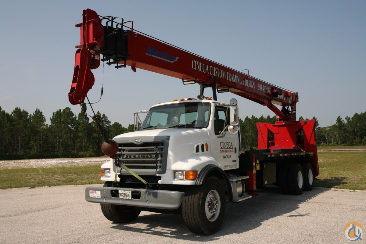 2005 Manitex 124WL Crane for Sale in Jacksonville Florida on CraneNetwork.com
