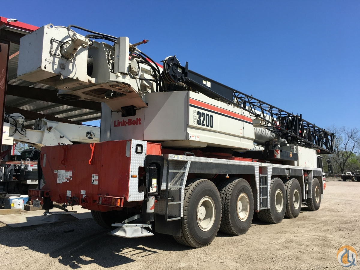 2008 LINK BELT ATC-3200 Crane for Sale in Houston Texas on CraneNetwork.com