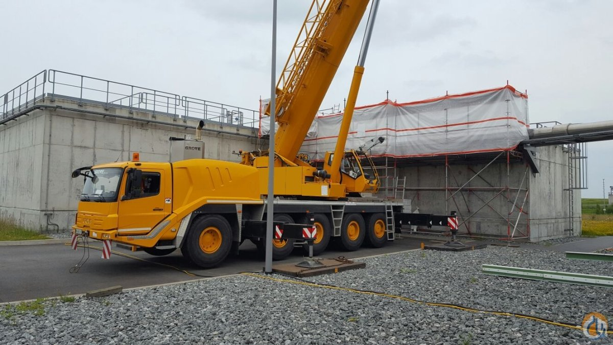 Grove GMK 5130-2 Crane for Sale in Giessen North Brabant on CraneNetwork.com