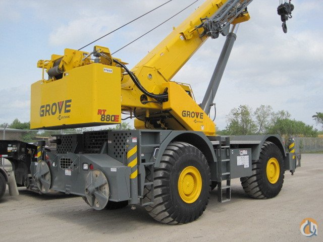 2013 Grove RT880E Crane for Sale or Rent in Houston Texas on CraneNetwork.com