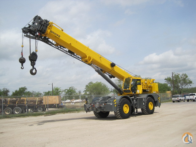 2013 Grove RT880E Crane for Sale or Rent in Houston Texas on CraneNetworkcom
