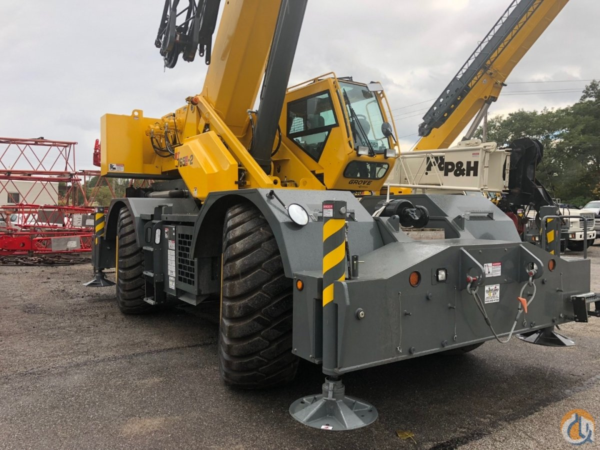 New 2019 Grove Rt 765E-2 Crane for Sale or Rent in Cleveland Ohio on CraneNetwork.com