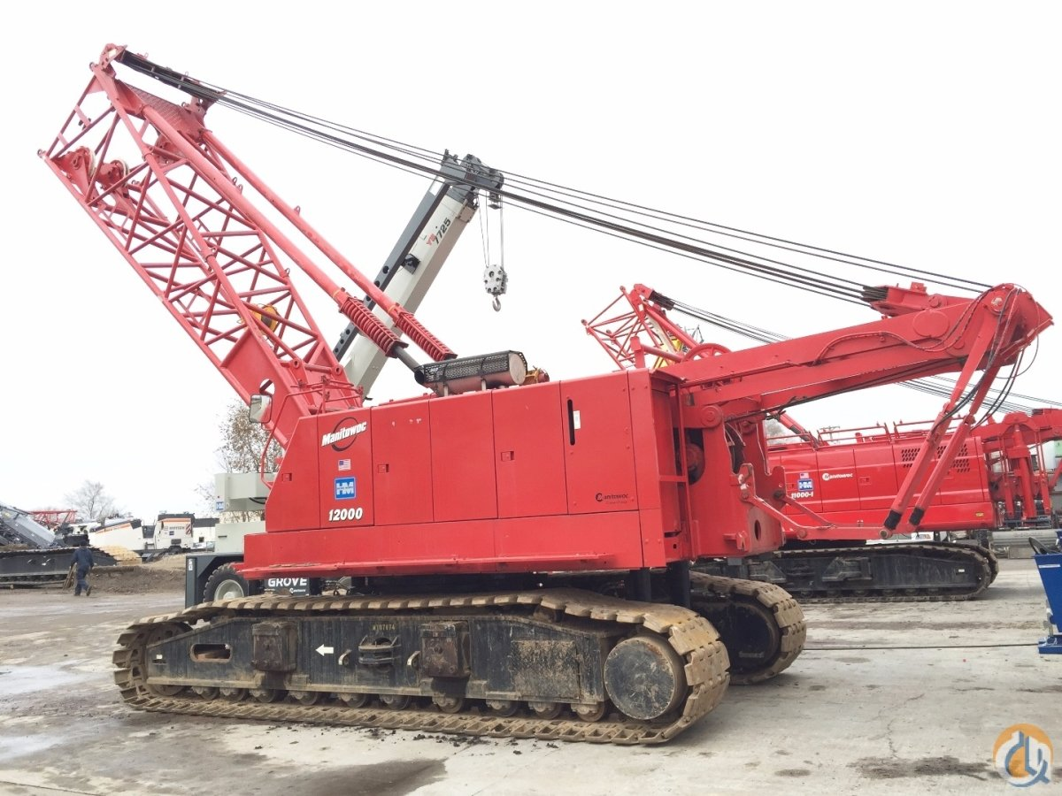 Manitowoc 12000 Crane for Sale or Rent in Minneapolis Minnesota on CraneNetworkcom