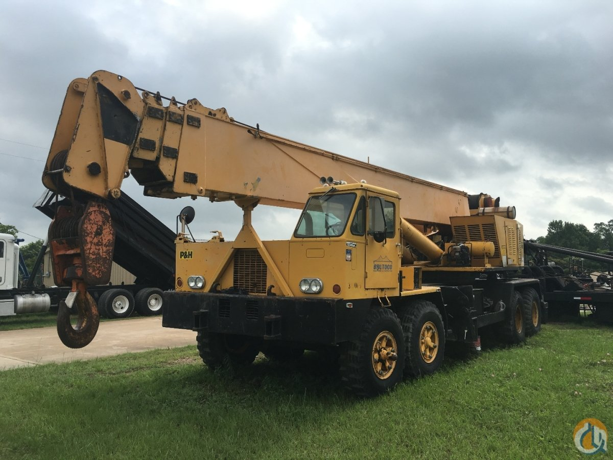 1978 PH T750 TRUCK CRANE Crane for Sale in Houston Texas on CraneNetworkcom