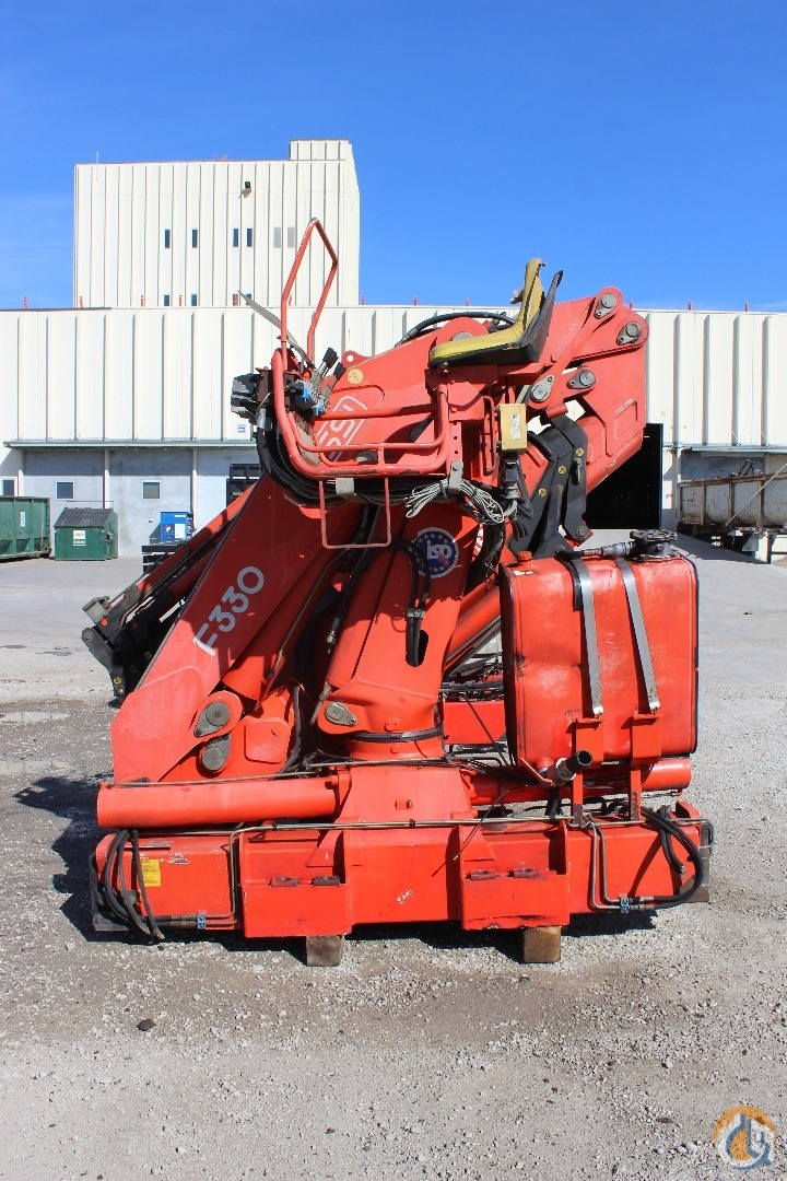 Used Fassi F330A23L313 Crane for Sale in Olathe Kansas on CraneNetworkcom
