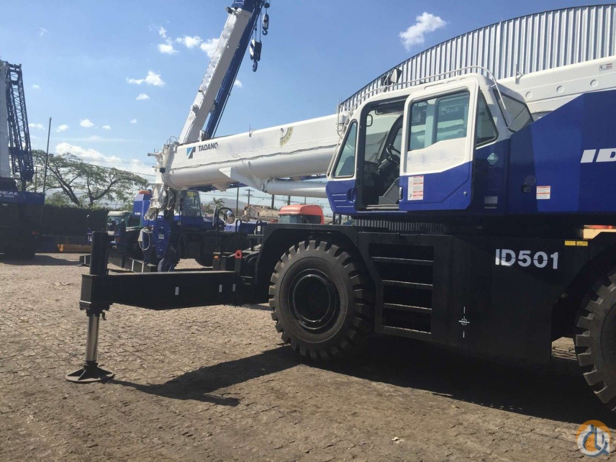 2014  LIKE NEW TADANO GR550XL-2 Crane for Sale in Houston Texas on CraneNetwork.com