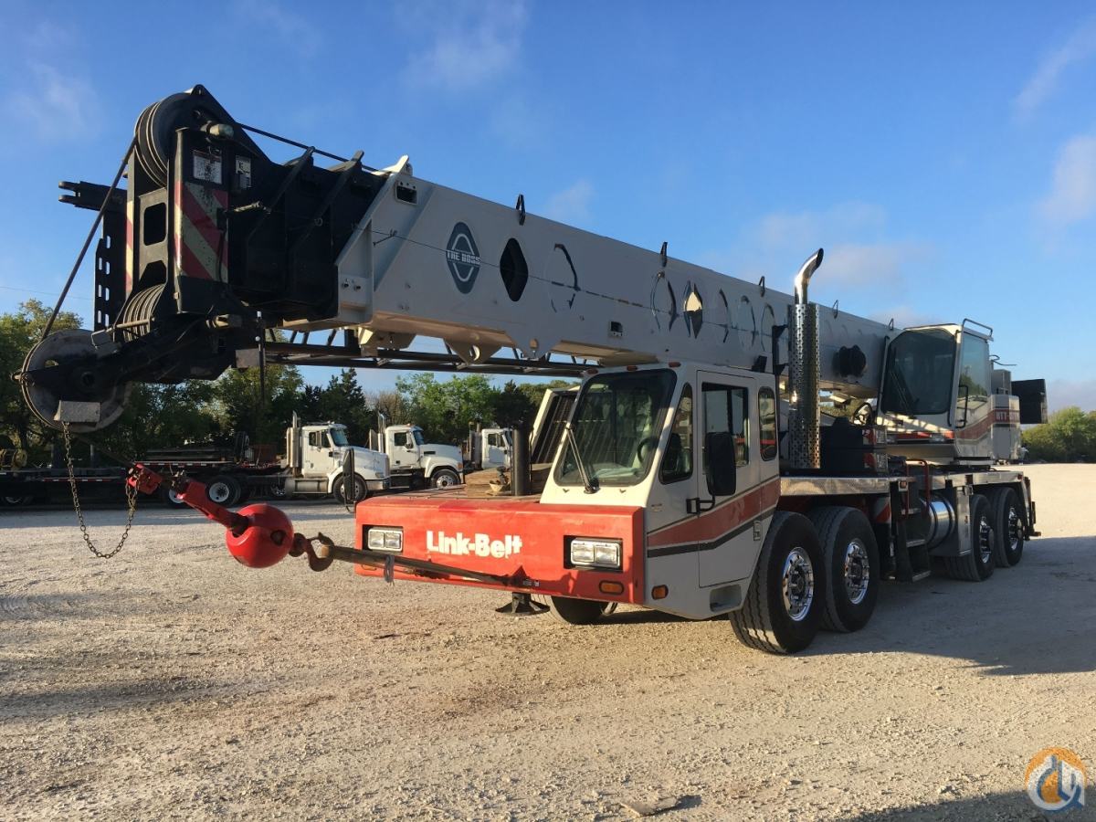 2005 LINK BELT HTT8675LB Crane for Sale in Austin Texas on CraneNetworkcom