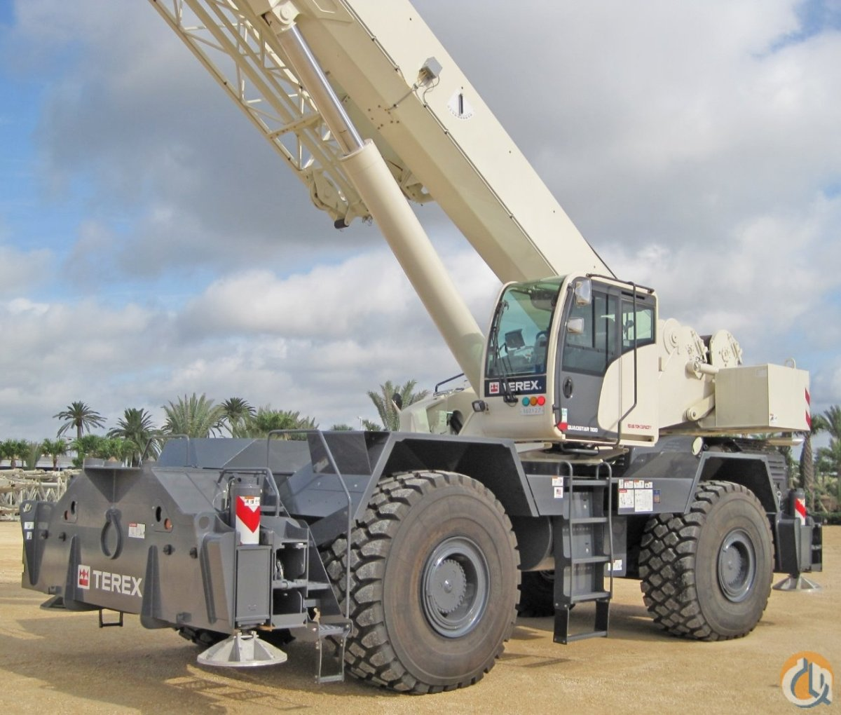 Terex QUADSTAR 1100 Rough Terrain Cranes Crane for Sale YR END ALE Take advantage of Sect179Bonus Depreciation   TEREX PRICE REDUCED CALL US FOR HUGE AVING in Houston  Texas  United States 208298 CraneNetwork