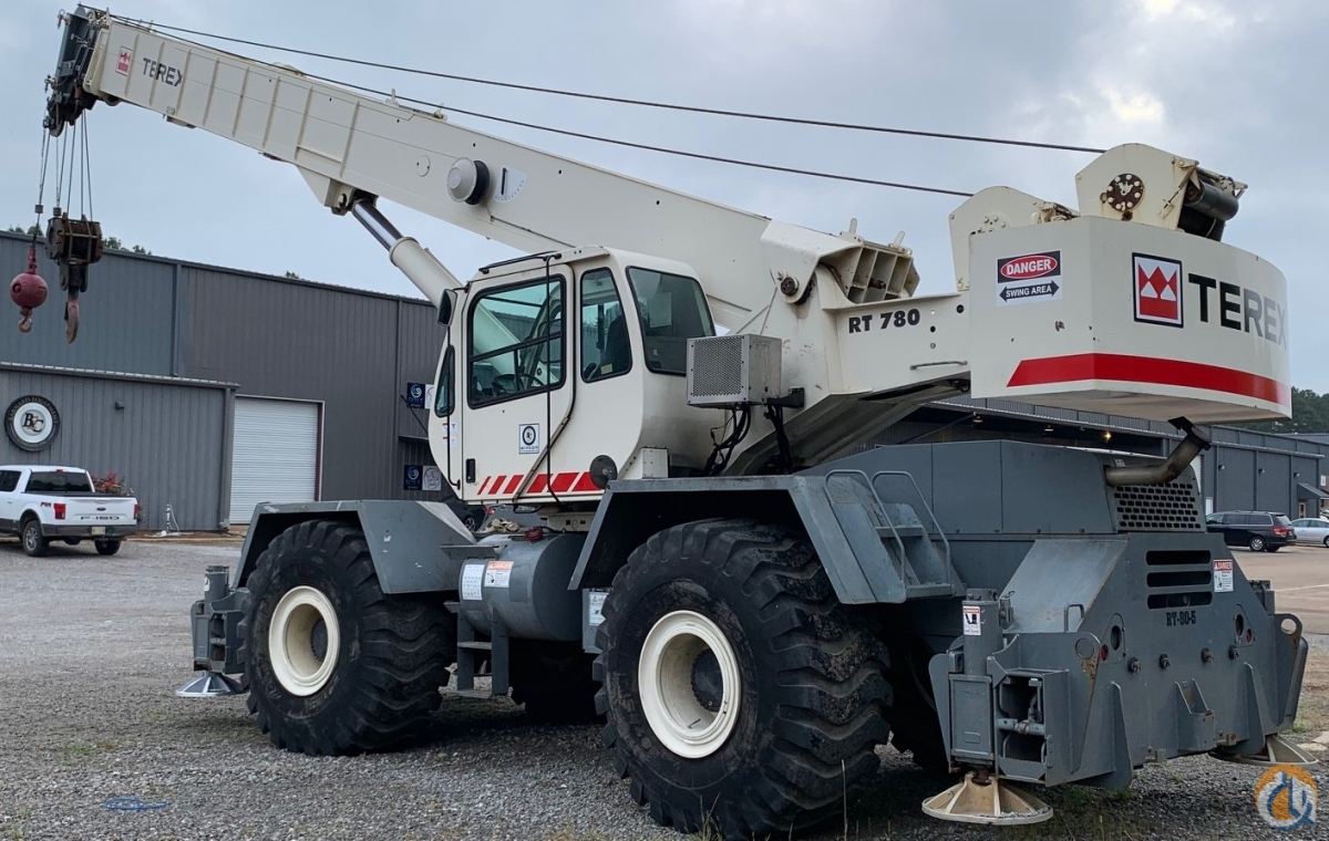 Sold 2007 RT780 Crane for  on CraneNetwork.com