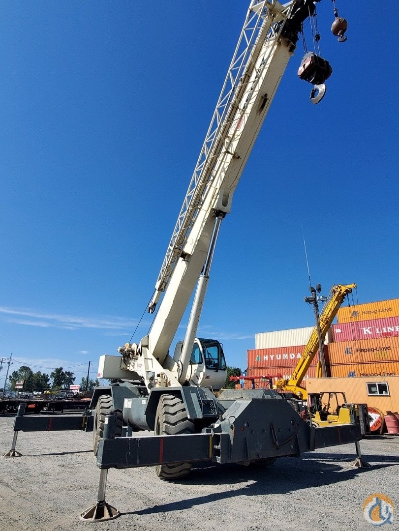 2006 Terex RT 780 Rough Terrain Crane Crane for Sale in Portland Oregon on CraneNetwork.com