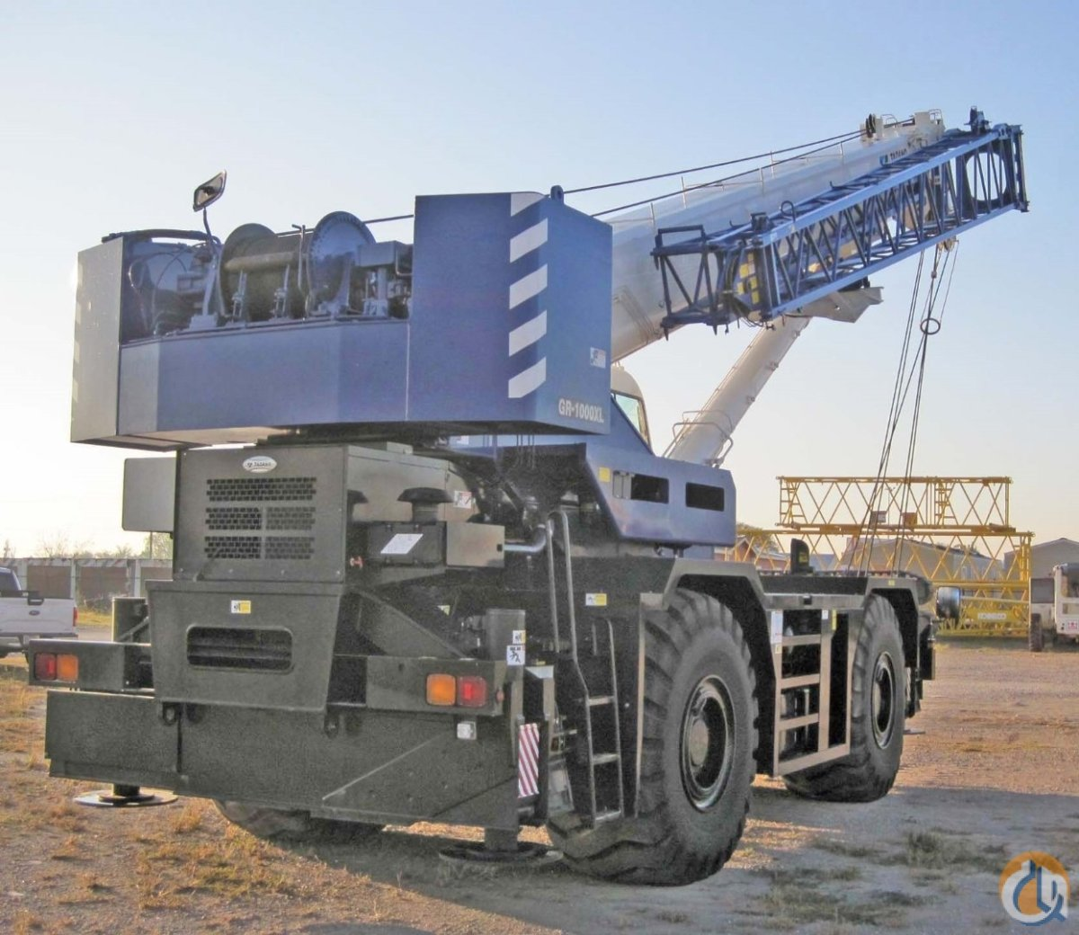 2 2013 TADANO GR1000XL 100 Ton Crane for Sale or Rent in Houston Texas on CraneNetwork.com