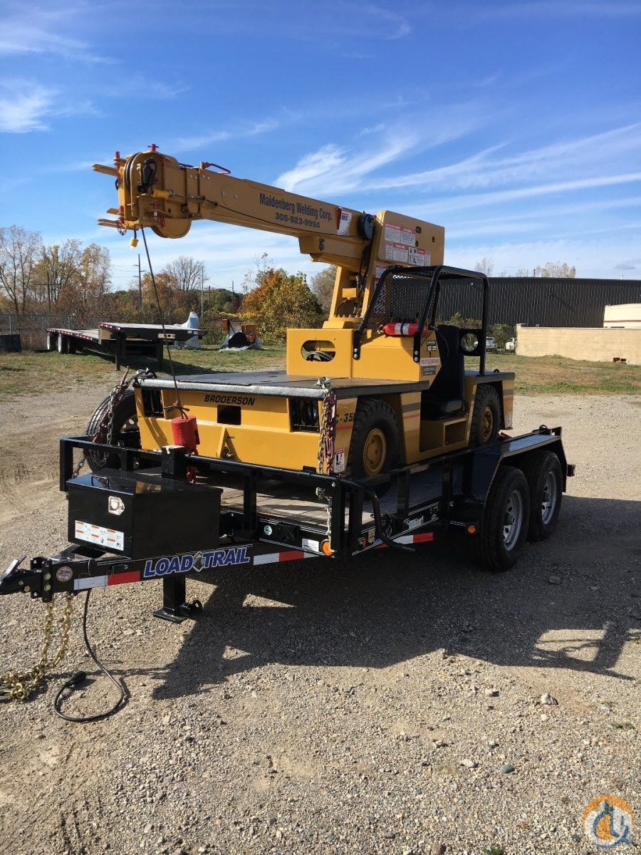 Broderson IC-35 Carry Deck Industrial Cranes Crane for Sale CCI- Broderson IC-35 in New York  New York  United States 217979 CraneNetwork