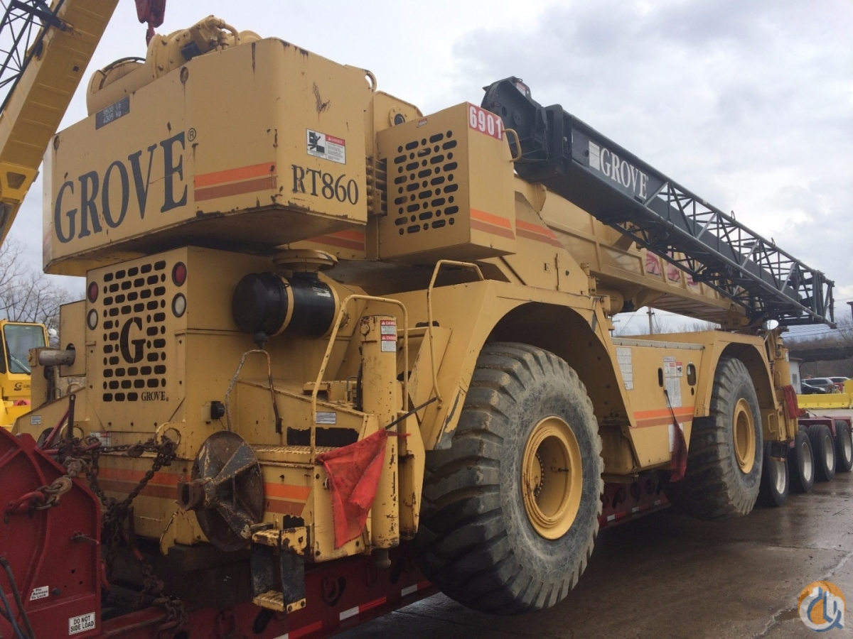 Grove RT860B For Sale Crane for Sale in Cleveland Ohio on CraneNetworkcom