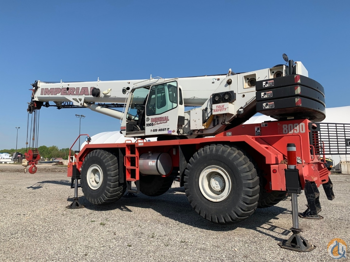 2009 Link-Belt RTC-8090 II Crane for Sale in Lemont Illinois on CraneNetwork.com