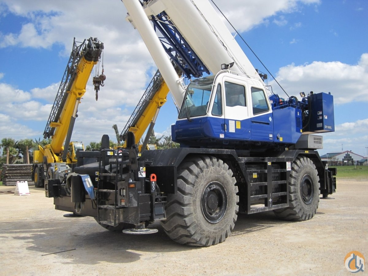 2013 TADANO GR1000XL 100 Ton Crane for Sale or Rent in Houston Texas on CraneNetwork.com