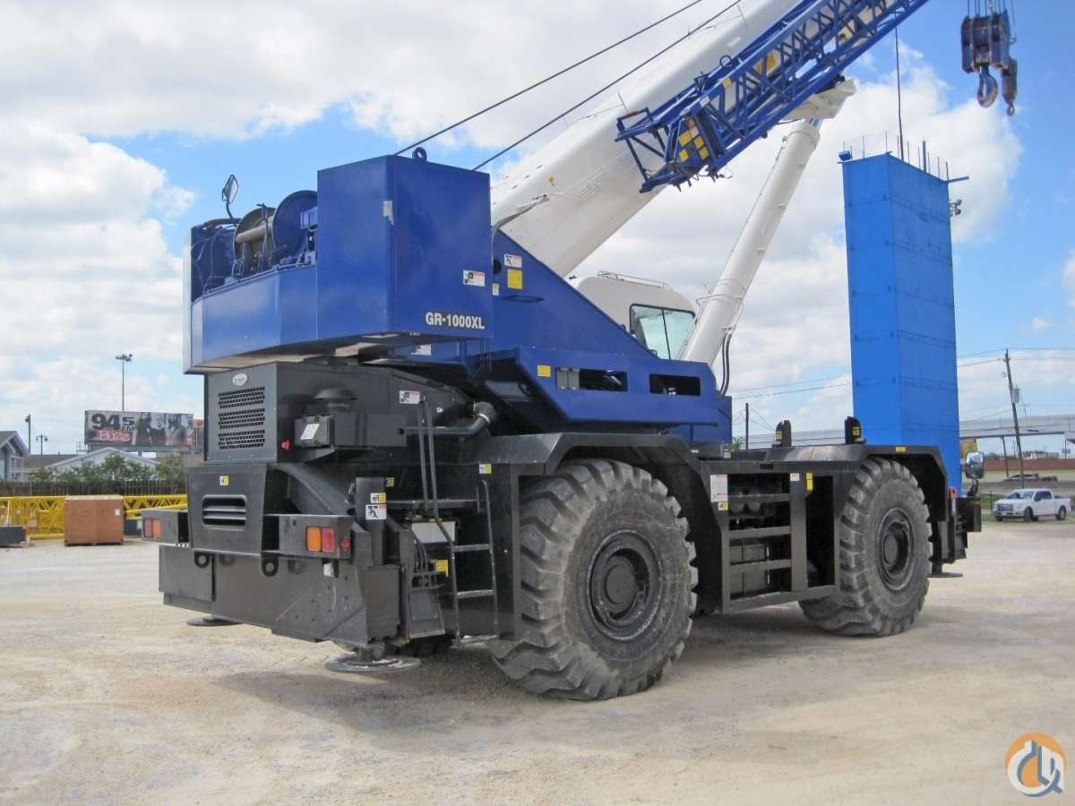 2 2013 TADANO GR1000XL 100 Ton Crane for Sale or Rent in Houston Texas on CraneNetworkcom