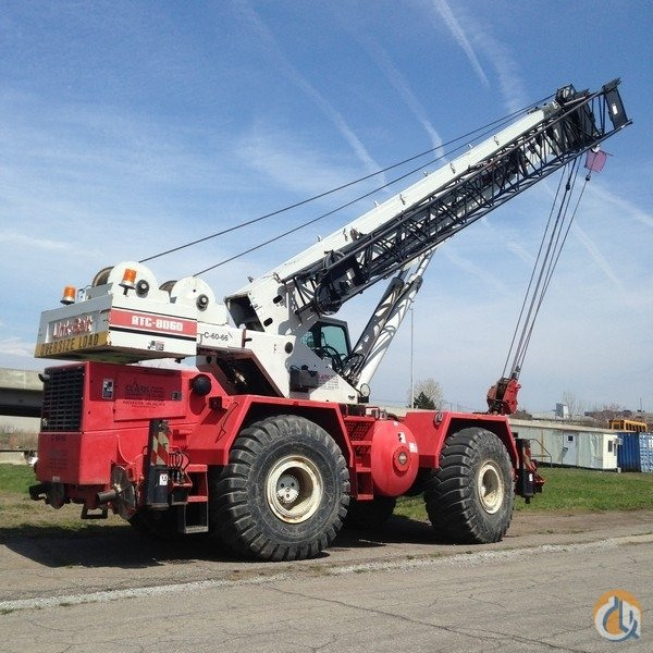 2000 Link-Belt RTC-8060 Crane for Sale in Lockport New York on CraneNetwork.com