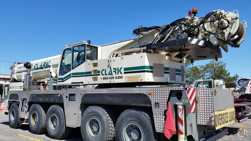 2004 Terex-Demag AC 110 150-ton All Terrain Crane Crane for Sale in Lockport New York on CraneNetwork.com