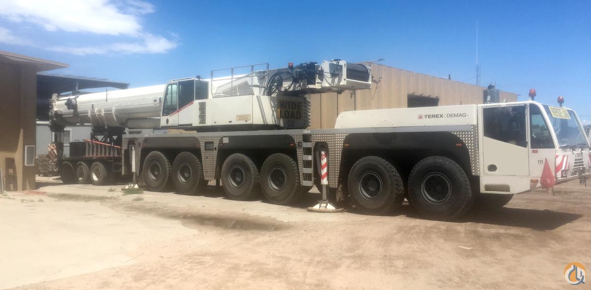 2005 Terex-Demag AC250-1, 300 Ton, All Terrain Crane
