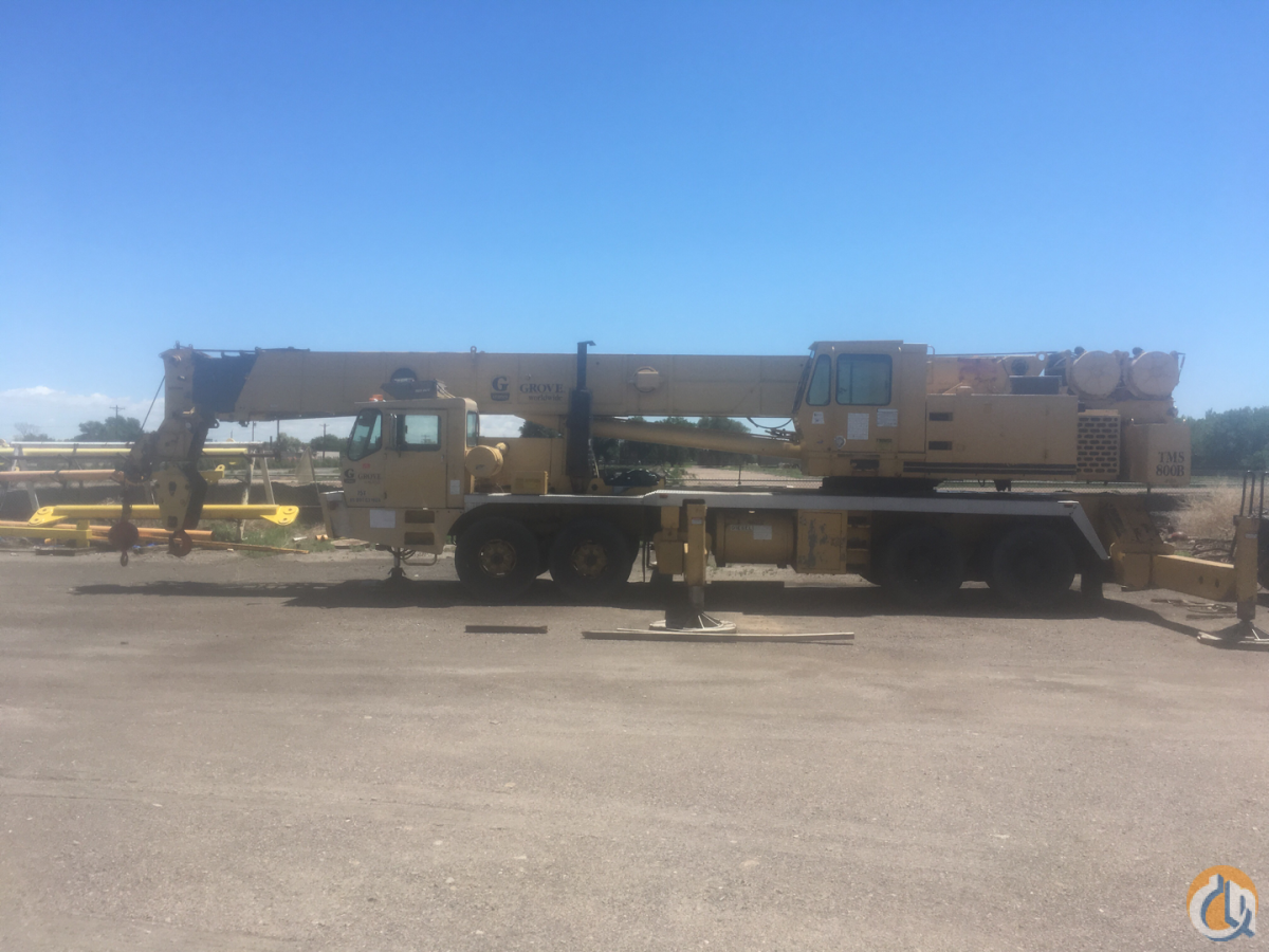 1993 Grove TMS875B 75 Ton Hydraulic Truck CranesList ID 328 Crane for Sale on CraneNetwork.com