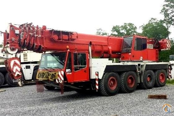 2001 Demag AC80-1 For Sale Crane for Sale in Baton Rouge Louisiana on CraneNetworkcom