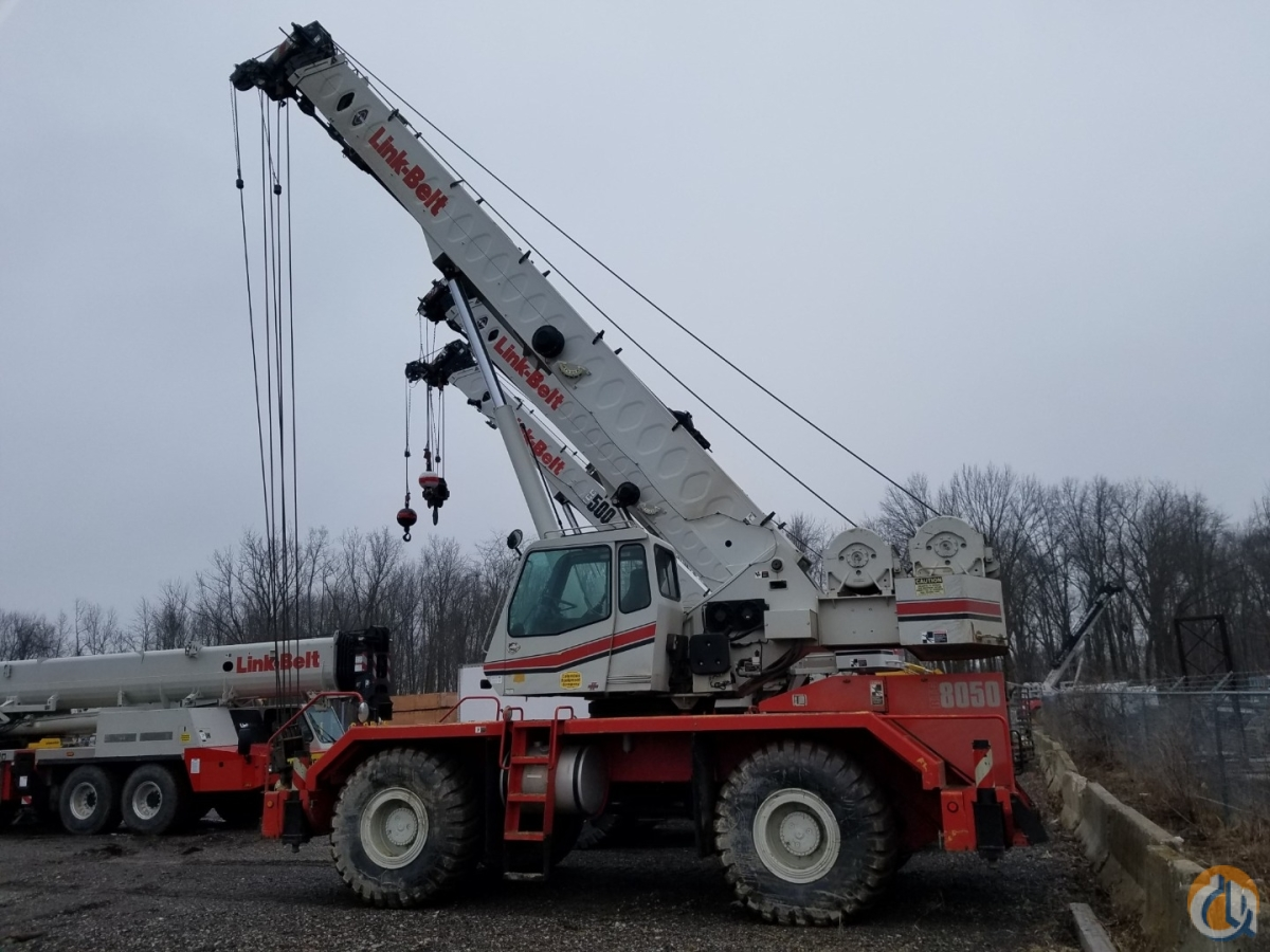 2009 Link-Belt Model RTC-8050 Series II Crane for Sale in Massillon Ohio on CraneNetwork.com