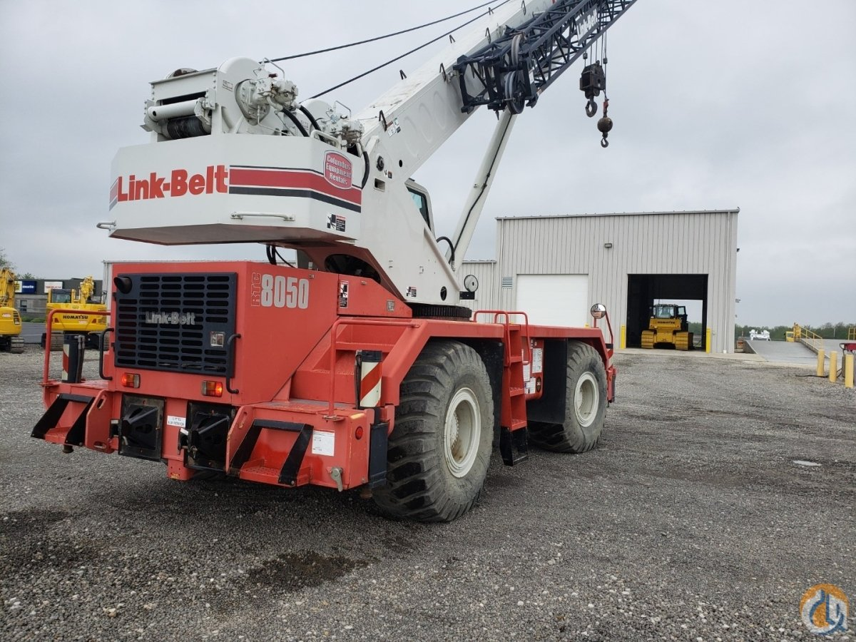 2011 Link-Belt Model RTC-8050 Series II Crane for Sale in Massillon Ohio on CraneNetwork.com