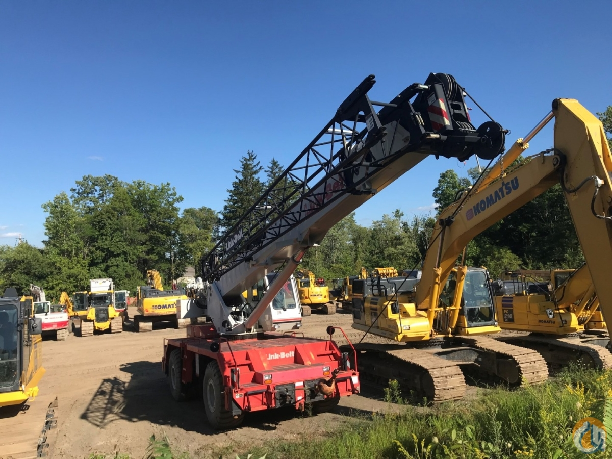 Sold 2012 Link-Belt Model RTC-8050 Series II Crane for  in Massillon Ohio on CraneNetwork.com