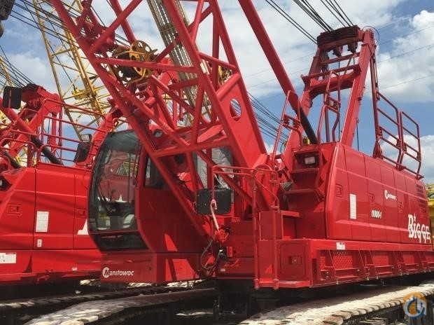 2015 MANITOWOC 11000-1 Crane for Sale in Houston Texas on CraneNetwork.com