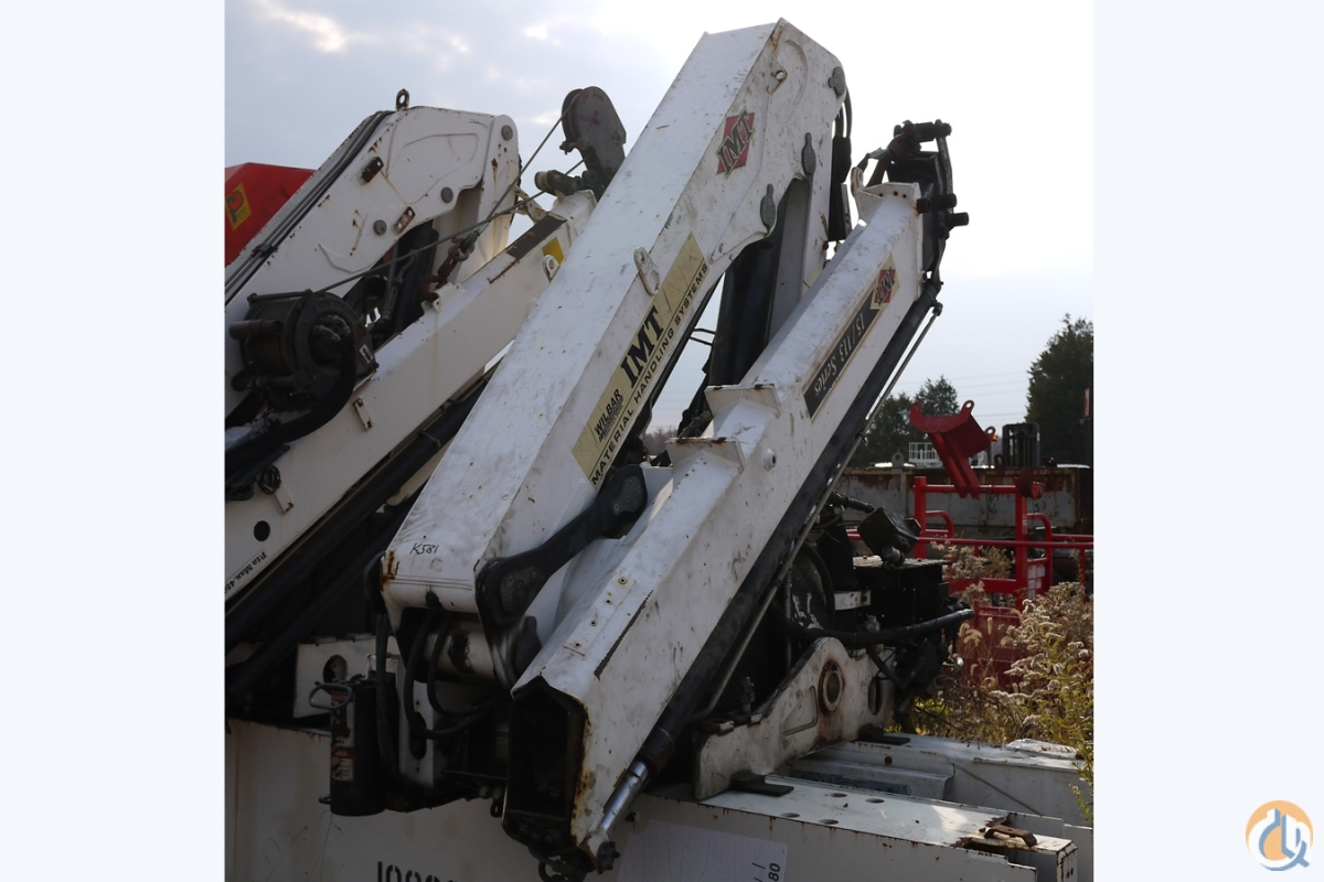 K581 - 2004 IMT 15113K2 UNMOUNTED KNUCKLEBOOM 5 TON Crane for Sale in Hatfield Pennsylvania on CraneNetworkcom