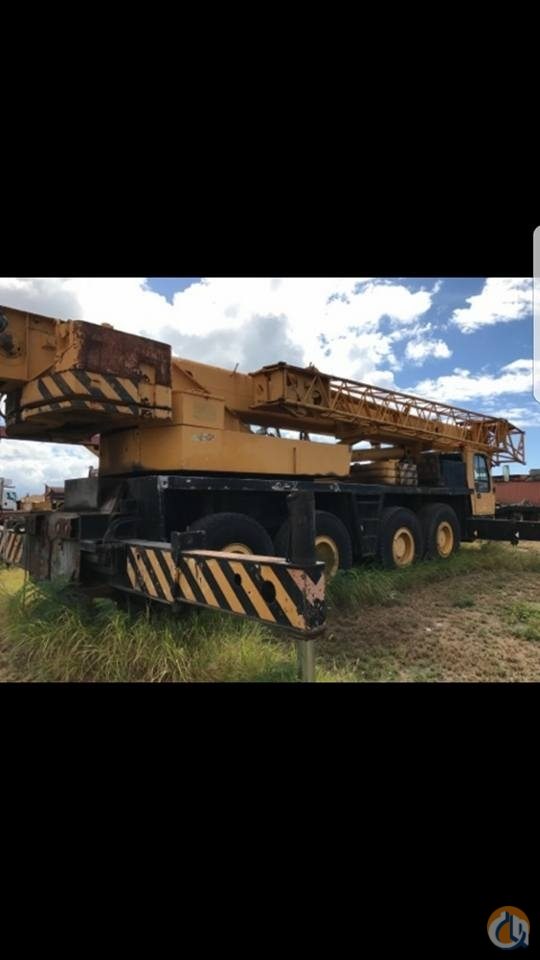 Sold KRUPP  KMK 4070 ALL TERRAIN CRANE 70 TON Crane for  on CraneNetwork.com