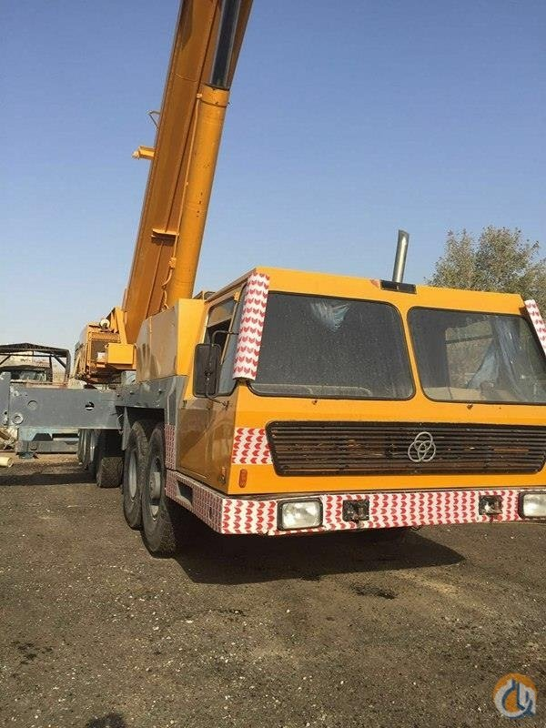 KRUPP GMT 180 ALL TERRAIN CRANE 180 TON Crane for Sale in Dubai Dubai on CraneNetworkcom