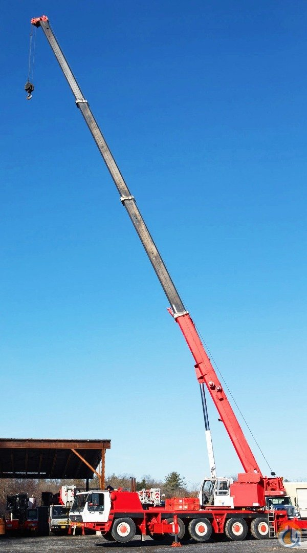 Krupp Grove 110 US Ton All Terrain Crane Crane for Sale in Baltimore Maryland on CraneNetworkcom